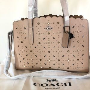Coach 1941 Tote Carryall Charlie Beige Satchel